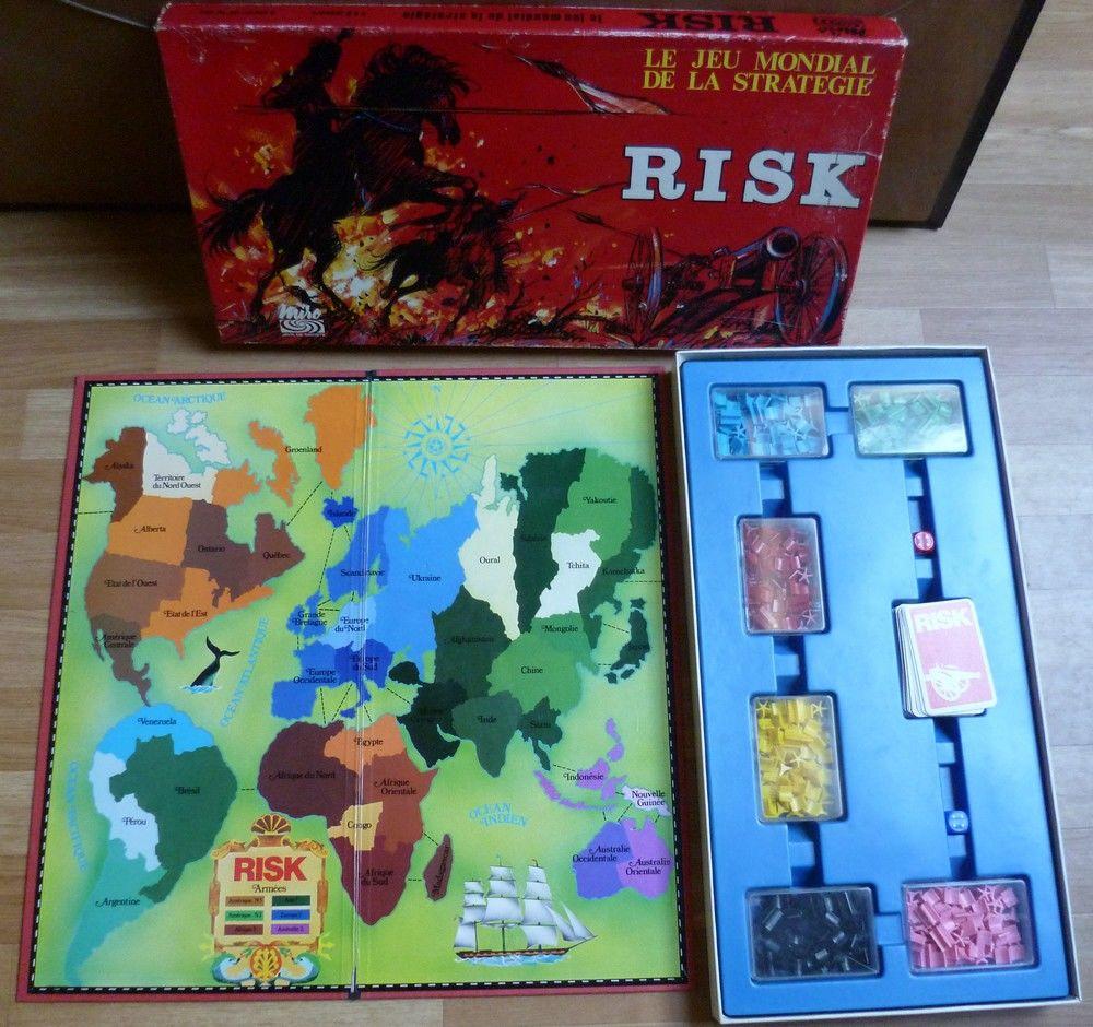 RISK , le Jeu Mondial De La Stratégie - vintage 20 Vieux-Condé (59)