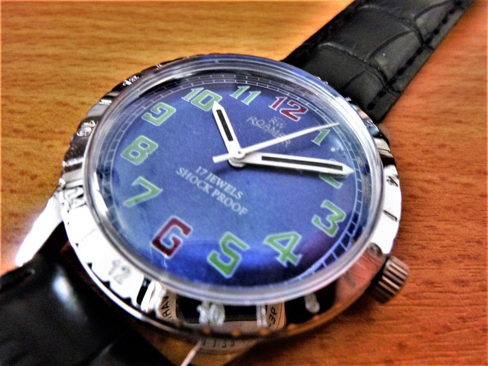 ROAMER montre Suisse homme mécanique 1986 ROA1015 125 Metz (57)