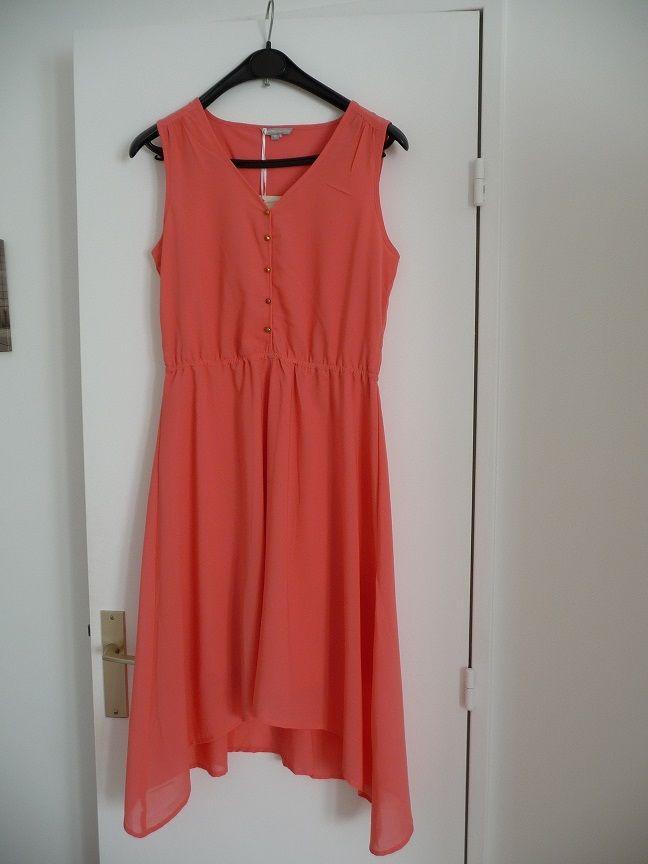 Robe asymétrique orange taille 38 - NEUVE 20 Montigny-le-Bretonneux (78)