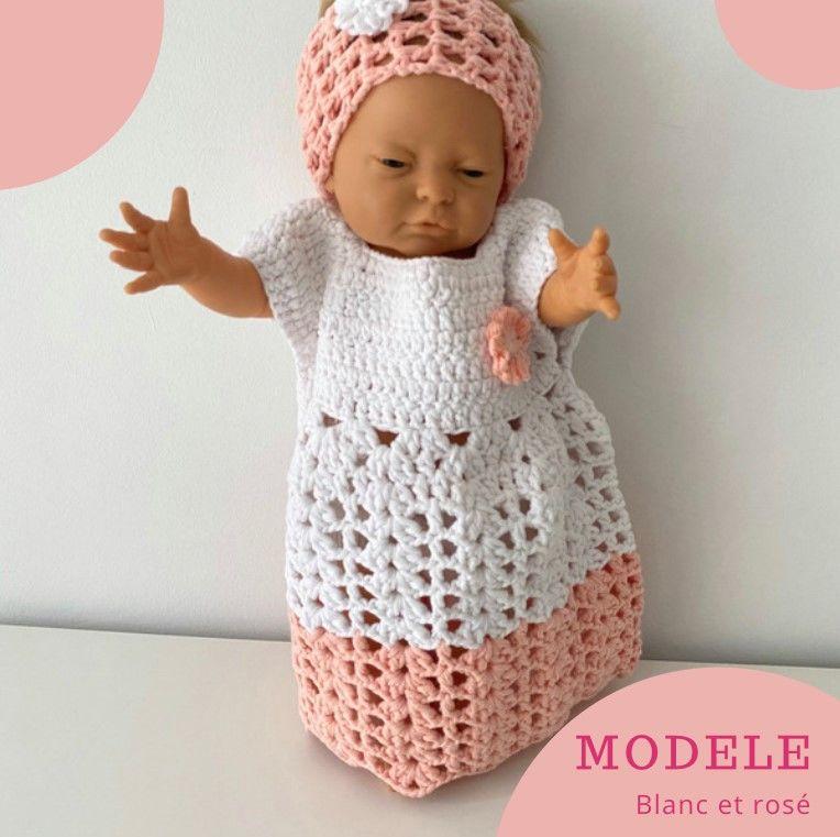 Robe bébé fille et son bandeau 15 Marseille 8 (13)
