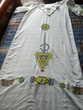 Robe berbère peinture sur soie . Béziers (34)