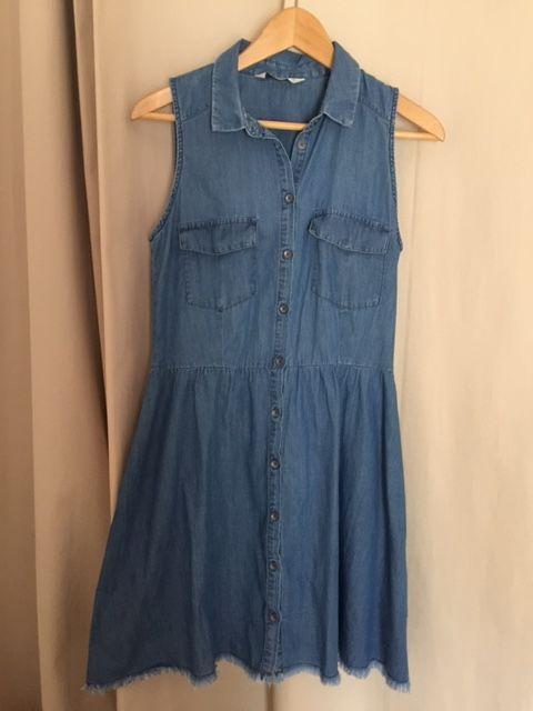 Robe F. Bershka Denim collection, T. M ou 38 Bleu jean 8 Saulx-les-Chartreux (91)