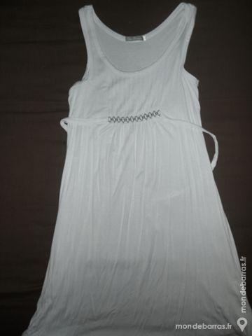 Robe blanche à bretelles taille 3, neuve 10 Rennes (35)