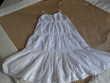Robe blanche à bretelles marque  Mila Blue Pleuven (29)