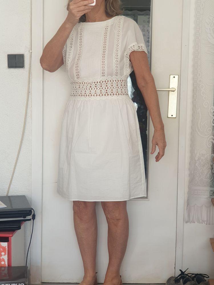 Robe d'été blanche 15 Cavalaire-sur-Mer (83)