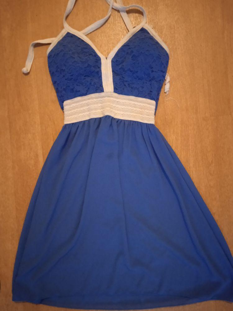 Robe bleu Vêtements