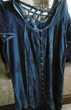 Robe bleue d'été avec manches dentelles  14 Villars-les-Dombes (01)