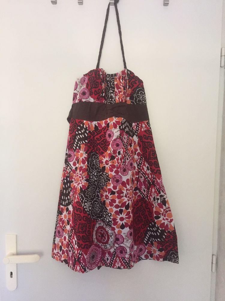 Robe bustier colorée Promod - Taille 36 6 Bourg-en-Bresse (01)