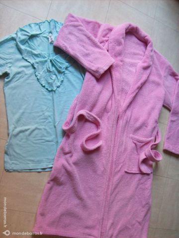 robe de chambre rose 42/44- zoe 11 Martigues (13)
