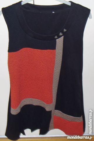 robe chasuble col montant t40fond noire 15 Argenteuil (95)
