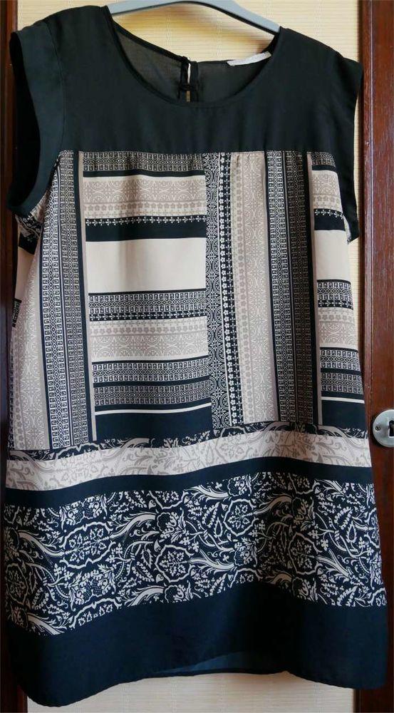 robe courte  noire beige 15 Saint-Germain-du-Plain (71)