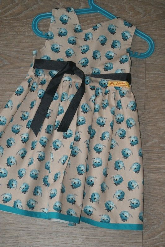Robe couture 3/5ans 25 Baudricourt (88)