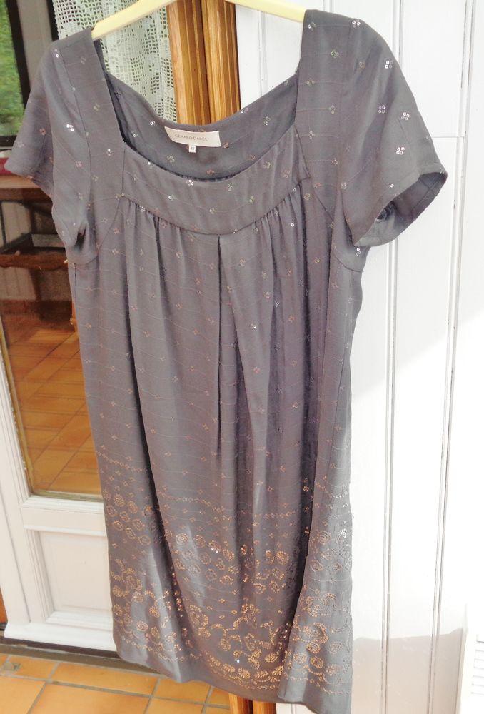 robe r-darel gris foncé t40 paillettes 20 Argenteuil (95)