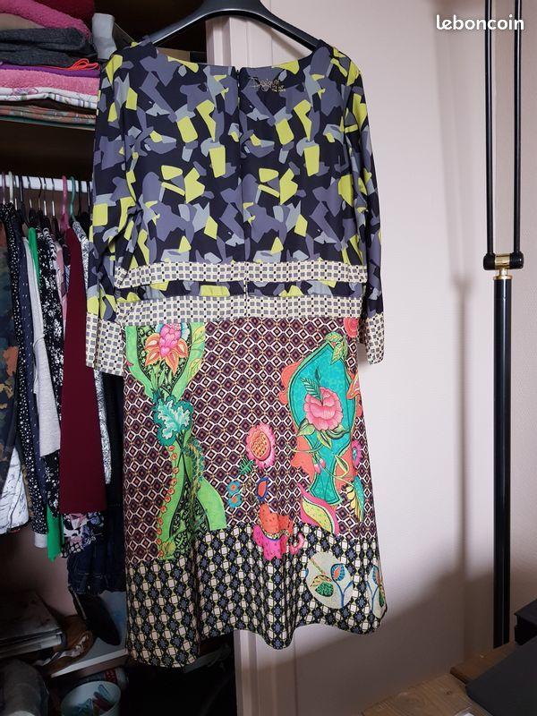 robe Desigual multicolore 25 Noisy-le-Grand (93)