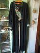 Robe djellaba noire 15 Nieuil-l'Espoir (86)