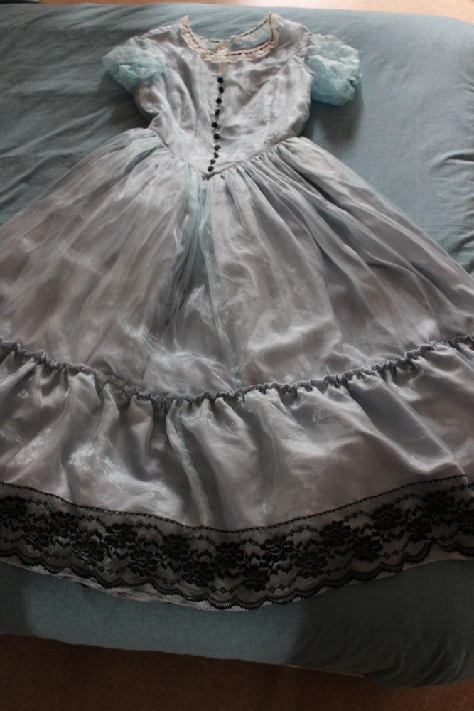 robe femme de théâtre couleur bleue, 15 Mantes-la-Jolie (78)