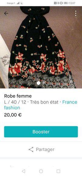 robe femme  20 Morlaàs (64)