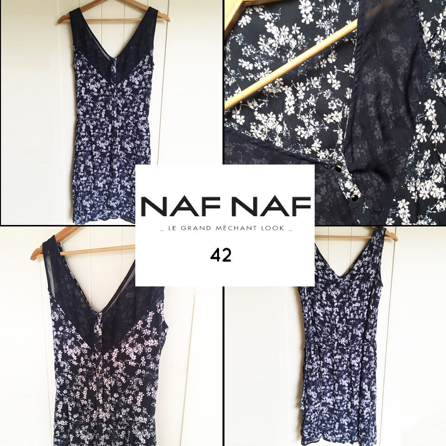 Robe fleurie NAF NAF 42 15 Marcq-en-Barœul (59)