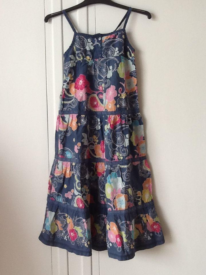 Robe à fleurs avec fines bretelles 7 Aurillac (15)