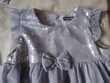 robe grise tulle et brillants 18 mois Puériculture
