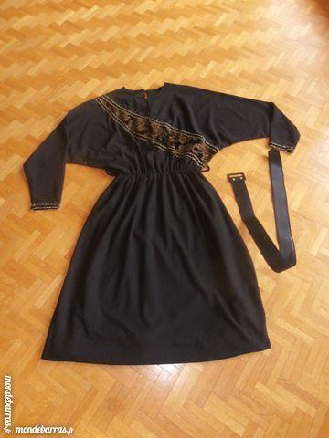 Robe habillée noir et or 40/42 (50) 30 Tours (37)