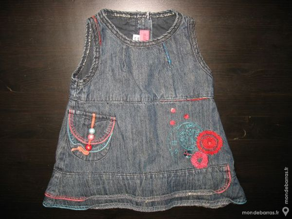 ROBE EN JEAN BB FILLE «MARESE» - 6 mois Vêtements enfants