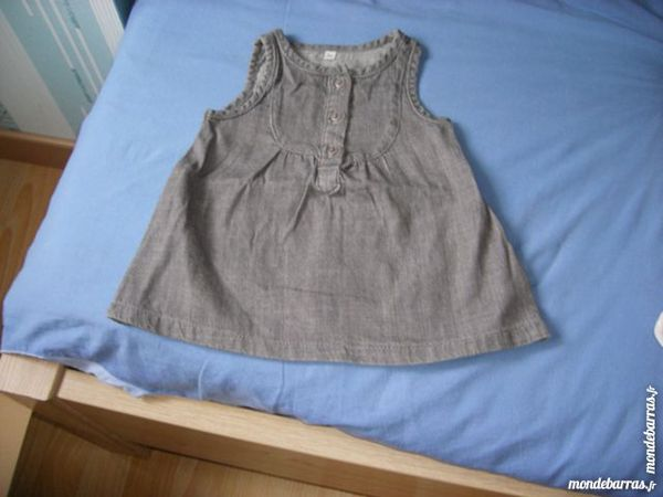robe jean grise 3 mois 3 Laventie (62)
