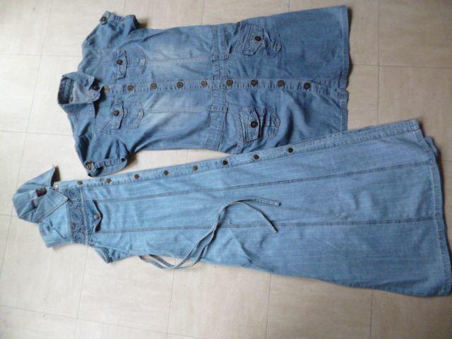 2 robe en jean -  40  et  XXL  - zoe 5 Martigues (13)