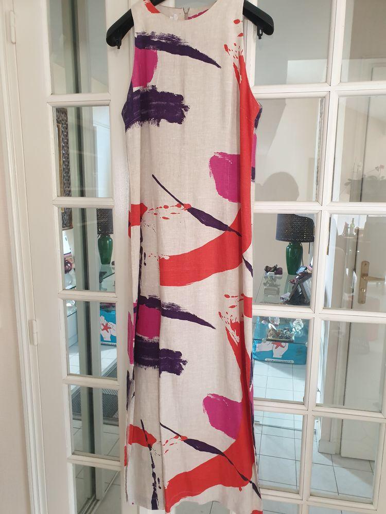 Robe longue en lin, de belle qualité, taille 40, quasi neuve 8 Voisins-le-Bretonneux (78)