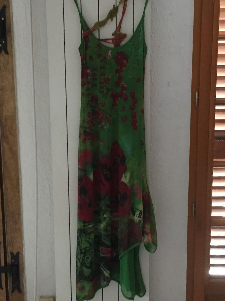 Robe longue de cocktail Vêtements