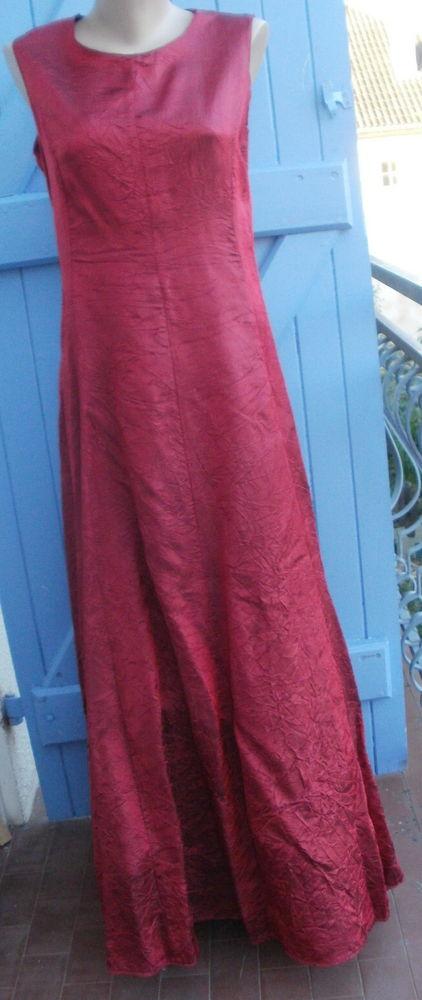 Robe longue Q H T Fabrication française Taille 36/38  15 Montauban (82)