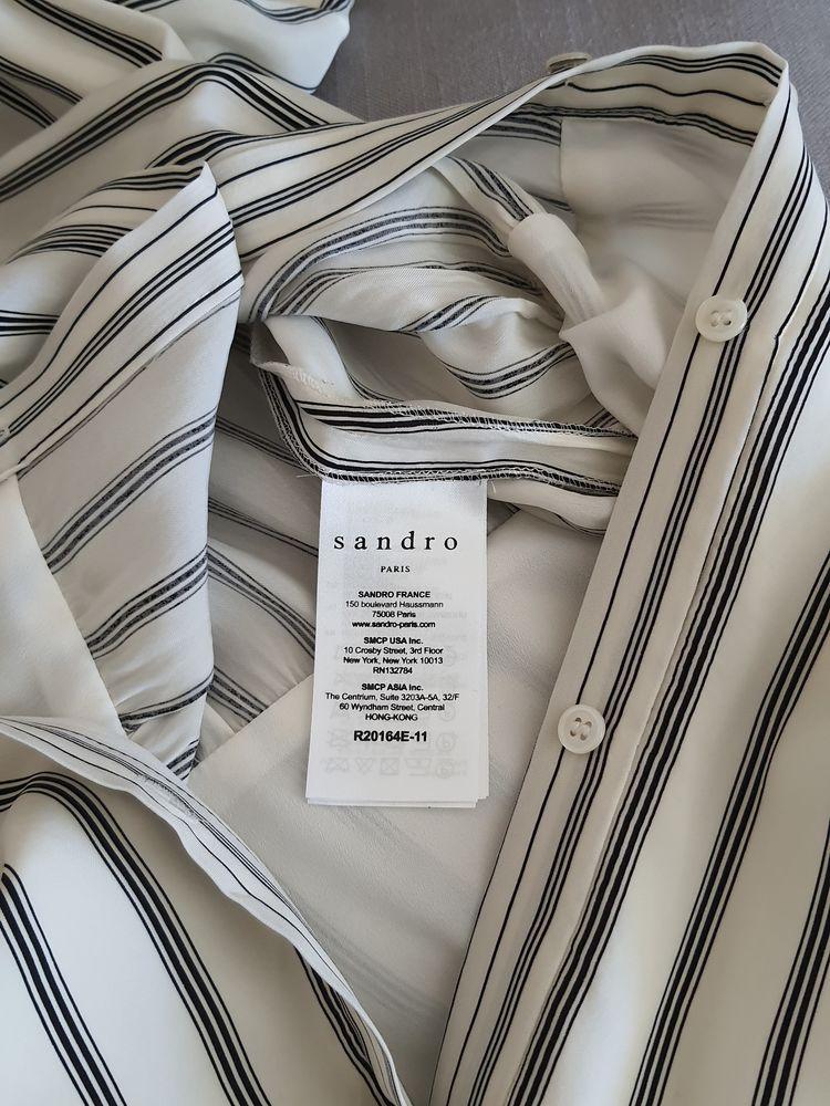 Robe mi-longue  Sandro. 80 Meaux (77)