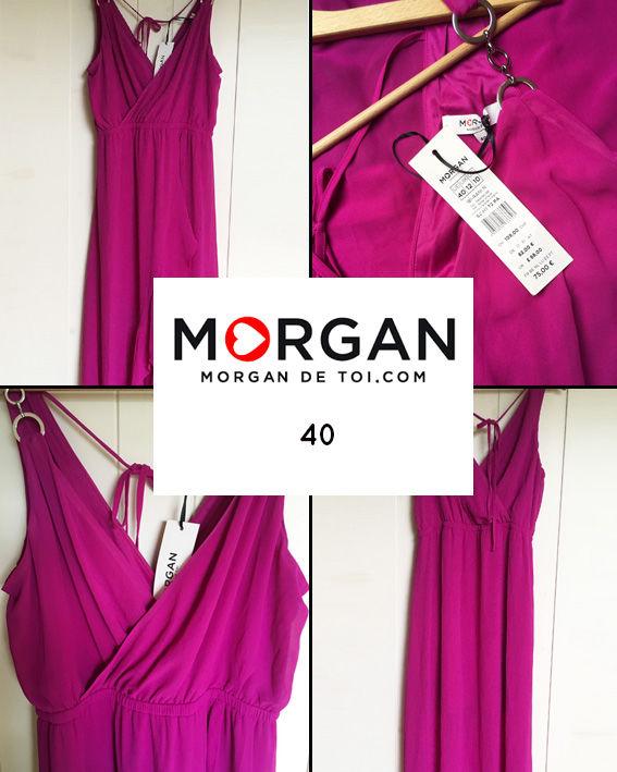 Robe longue volantée MORGAN 40 NEUVE 50 Marcq-en-Barœul (59)