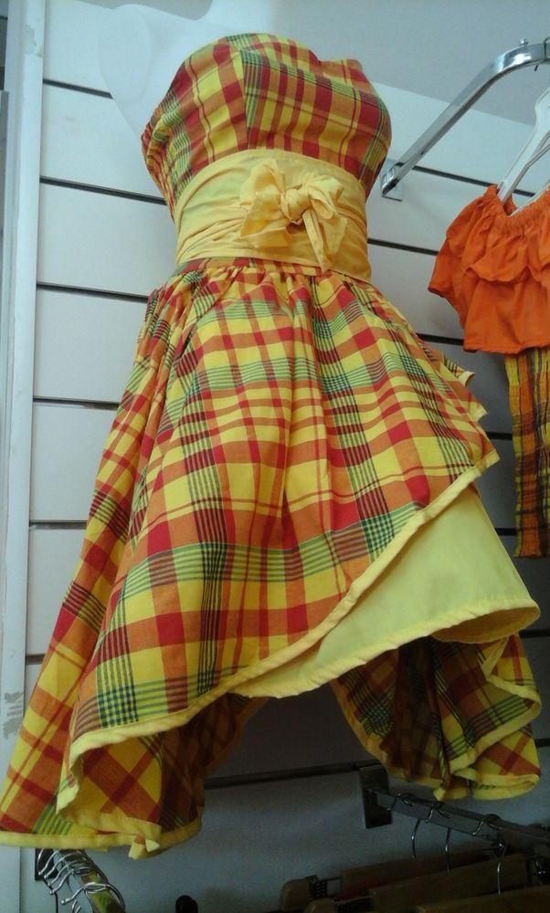Robe madras Vêtements