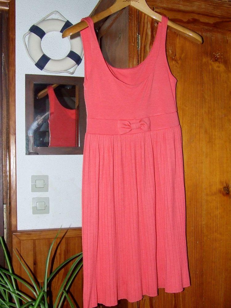 robe maille orange 10 Soulac-sur-Mer (33)