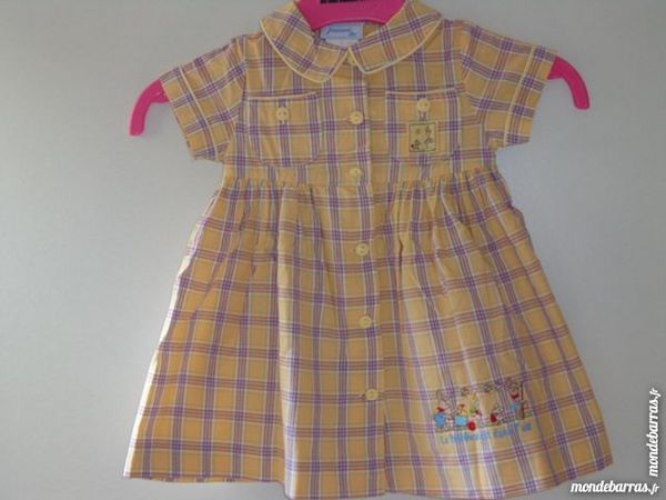 ROBE MANCHES COURTES «JACADI» TAILLE 6 MOIS TRES B 10 Longperrier (77)