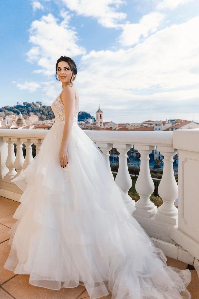 Robe mariée de créateur Adriana Alier 999 Nice (06)