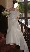 robe de mariée, jupon , gants 280 Bressuire (79)
