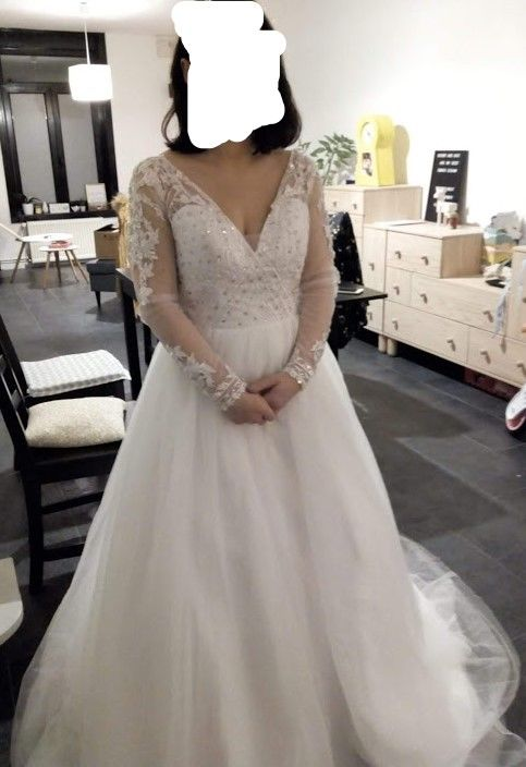 robe de mariée neuve 130 Ronchin (59)