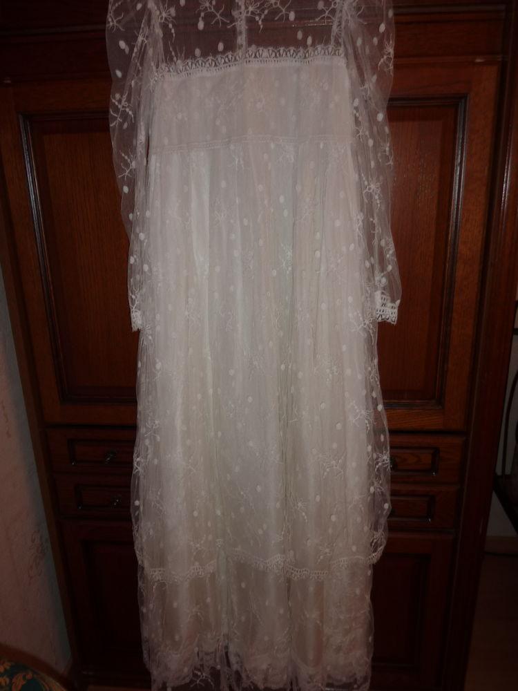 robe mariée 38 de style bohème 140 Vourles (69)