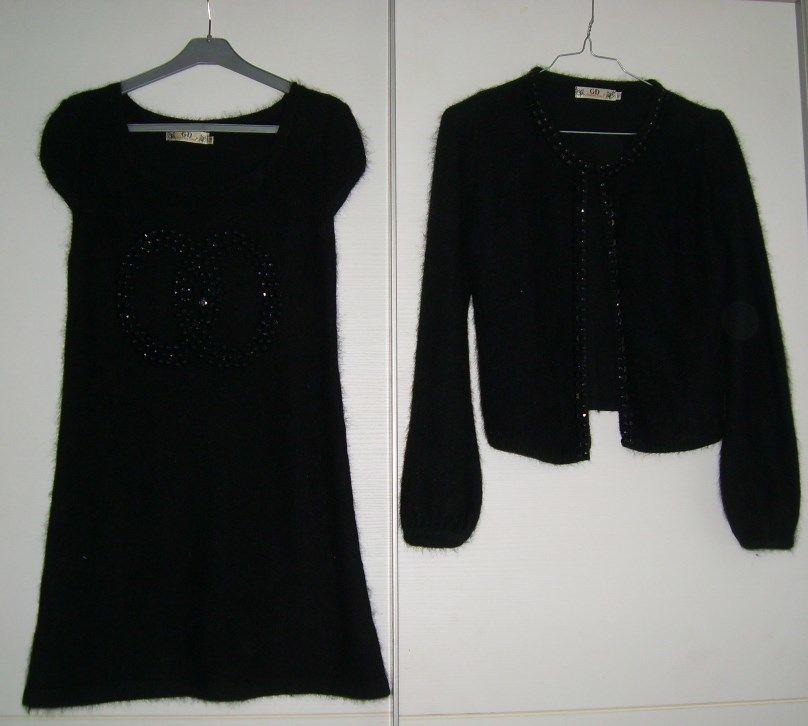 robe noire + boléro 50 Toulon (83)