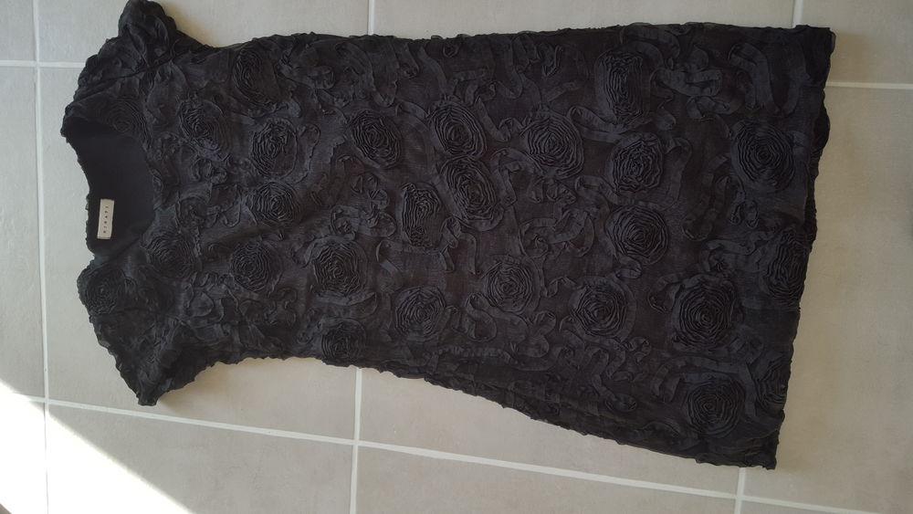 Robe noire chic 38 20 Sète (34)