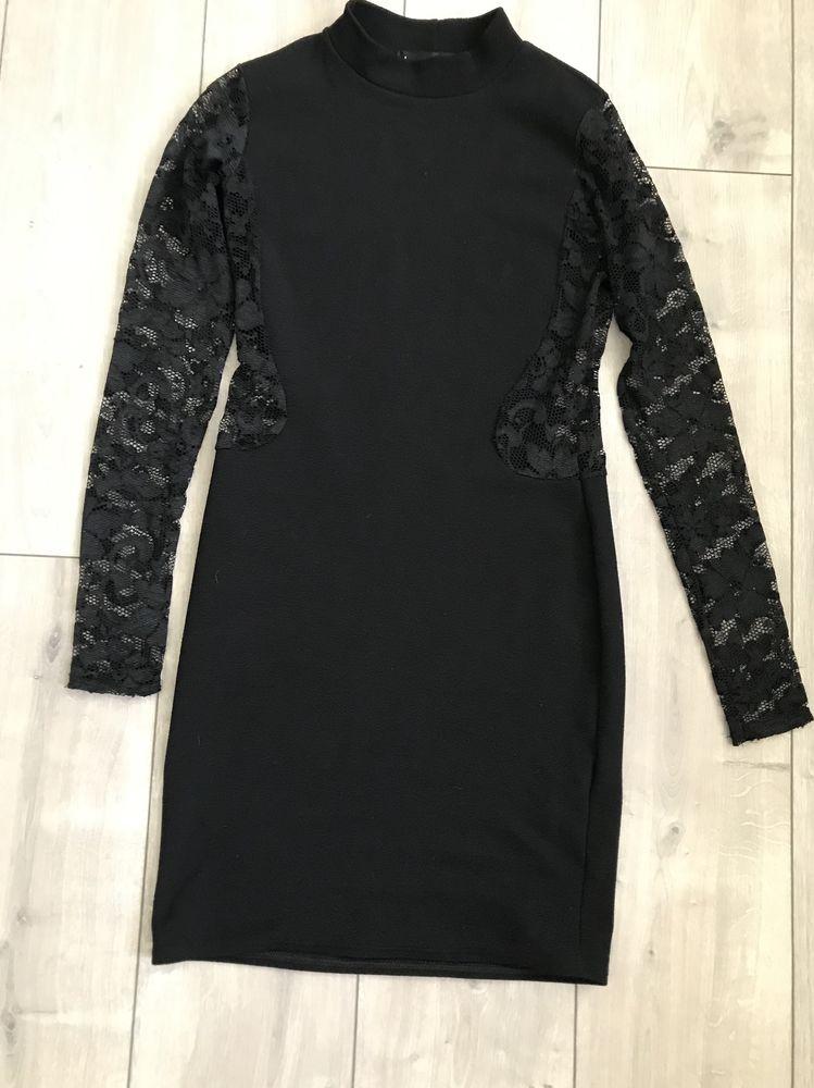 Robe noire de soirée BoohooNight 6 Toulouse (31)