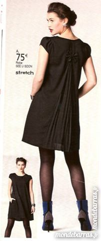 Robe noire See u soon taille 38 60 Bressuire (79)