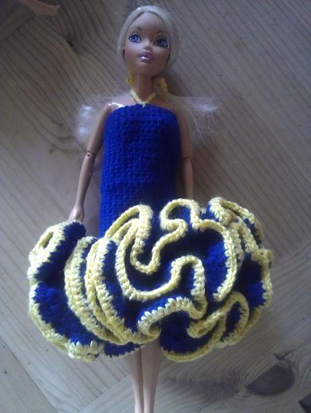 robe poupée mannequin faite main 6 Auxonne (21)