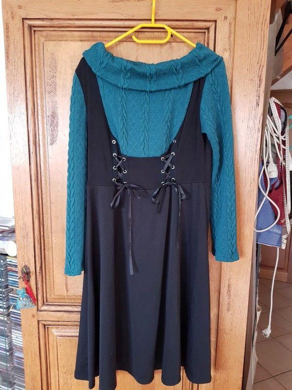 robe pull impression robe mise sur un pull mesure aisselles  15 Viriat (01)