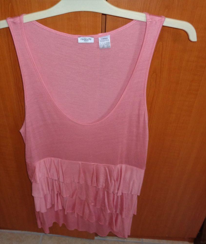 robe rose 3 volants devant neuve juste laver t46,48 18 Argenteuil (95)