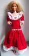 Robe rouge maman tendresse famille doucoeur