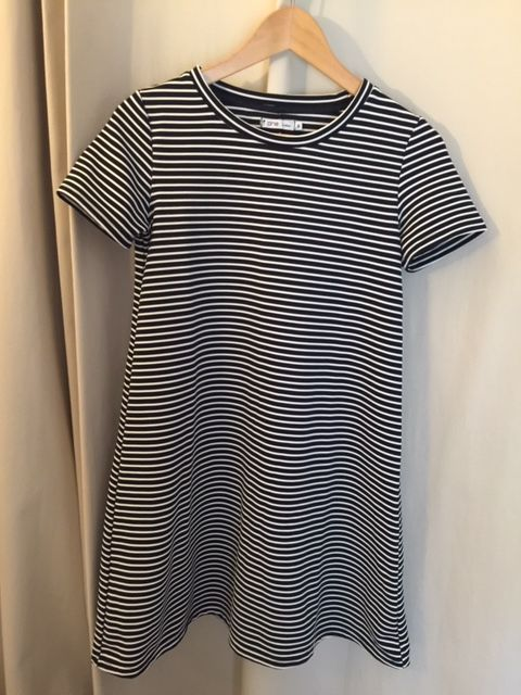 Robe tee-shirt GEMO, Taille S, à rayures marine & blanc 5 Saulx-les-Chartreux (91)