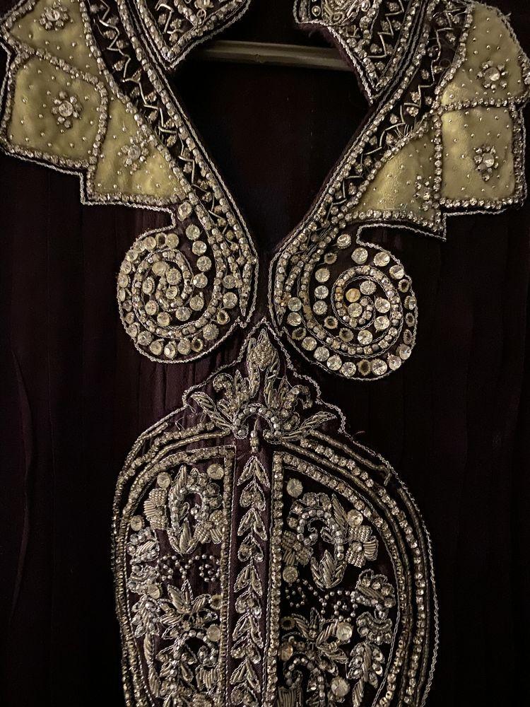 Robe de soirée Marron bordeau 45 Paris 1 (75)